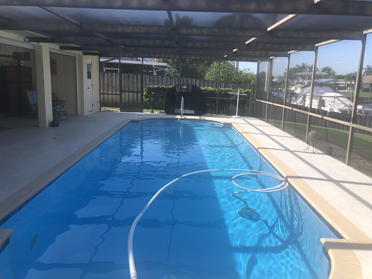 Deck installation by Aquatic Surfaces