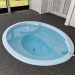 Residential Spa after Resurfacing